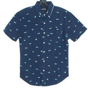 NWT Bonobos Shirt Sharks Button Up Standard Fit IM
